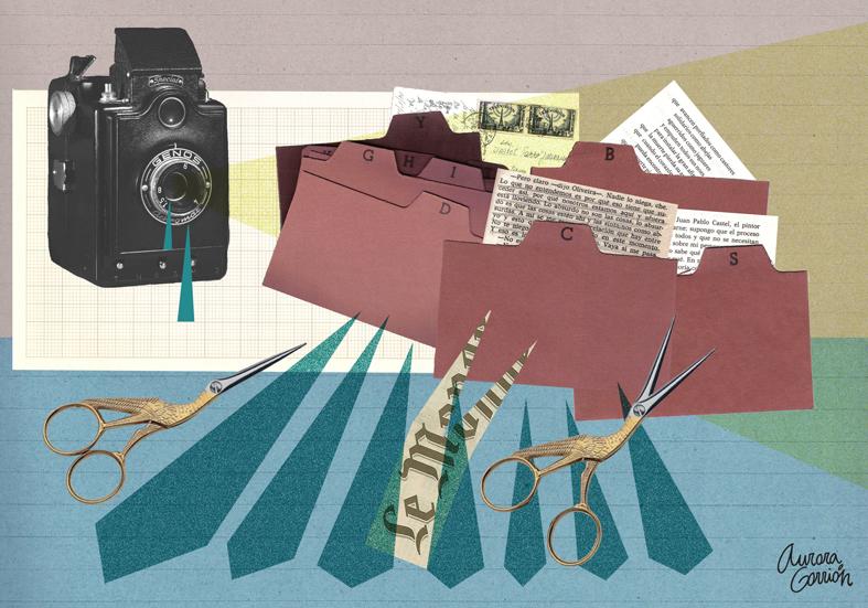 ilustración editorial visual magazine